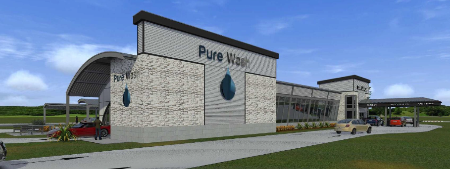 Eco-Friendly Car Wash Recycles 100% of Captured Water